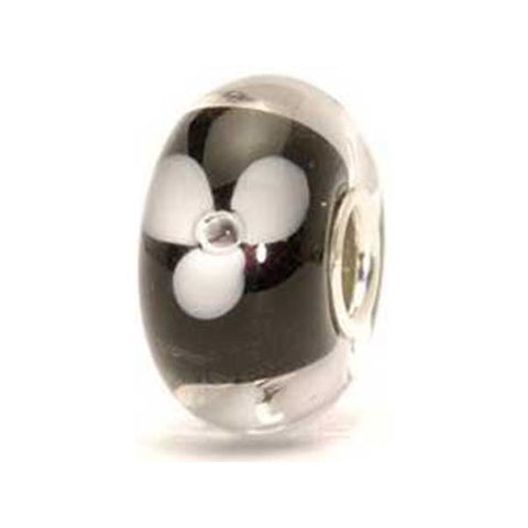White Flower - Trollbeads Glass bead - Centerville C&J Connection, Inc.