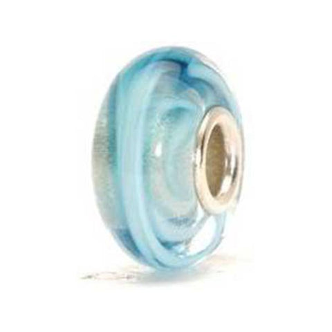 Turquoise Ribbon - Trollbeads Glass Bead - Centerville C&J Connection, Inc.