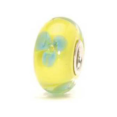Turquoise Flower - Trollbeads Glass Bead - Centerville C&J Connection, Inc.