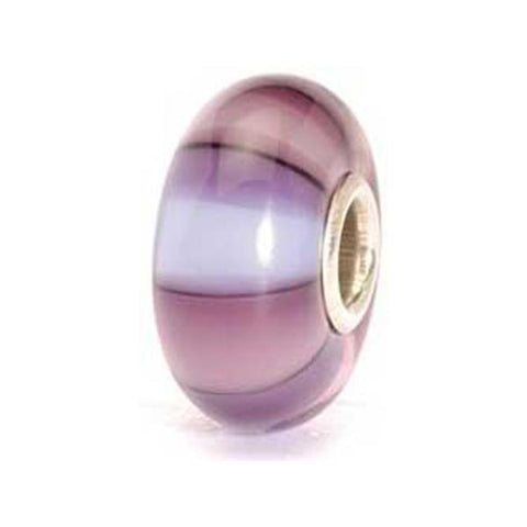 Purple Stripes - Trollbeads Glass Bead - Centerville C&J Connection, Inc.
