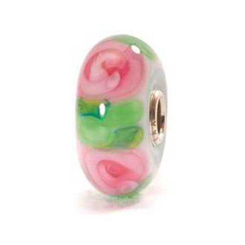 Rose - Trollbeads Glass Bead - Centerville C&J Connection, Inc.
