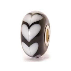 White Heart - Trollbeads Glass Beads - Centerville C&J Connection, Inc.