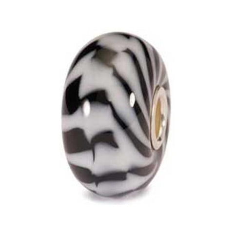 Zebra - Trollbeads Glass Bead - Centerville C&J Connection, Inc.