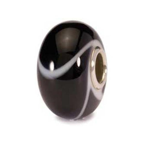 Black Armadillo - Trollbeads Glass Bead - Centerville C&J Connection, Inc.