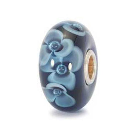 Midnight Flower - Trollbeads Glass Bead - Centerville C&J Connection, Inc.