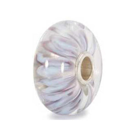 White Petals - Trollbeads Glass Bead - Centerville C&J Connection, Inc.