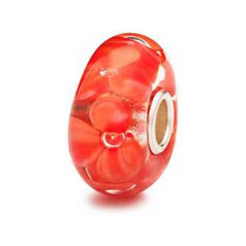 Coral Flower - Trollbeads Glass Bead - Centerville C&J Connection, Inc.