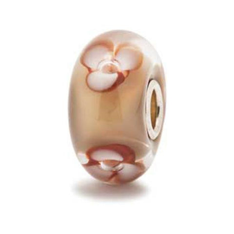 Cappuccino Flower - Trollbeads Glass Bead - Centerville C&J Connection, Inc.