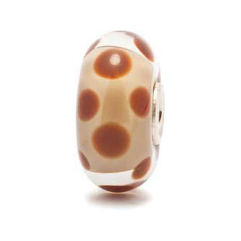 Chocolate Dot - Trollbeads Glass Bead - Centerville C&J Connection, Inc.