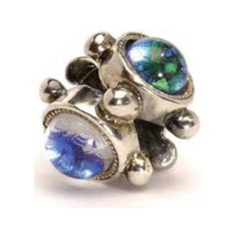 The Trinity - Trollbeads Silver & Glass Bead - Centerville C&J Connection, Inc.