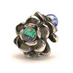 Three Flowers - Trollbeads Silver & Glass Bead - Centerville C&J Connection, Inc.