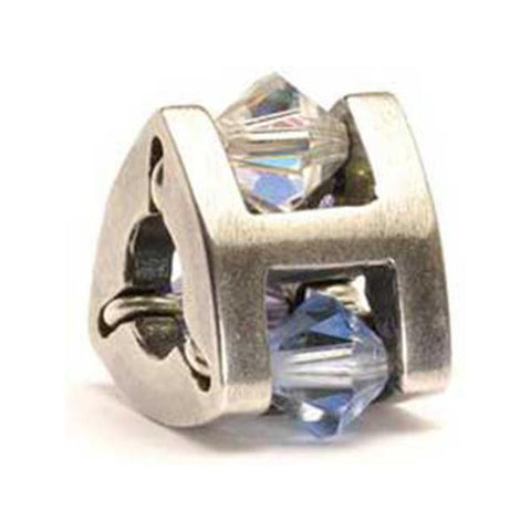 Summer Jewel - Trollbeads Small Silver & Glass Bead - Centerville C&J Connection, Inc.