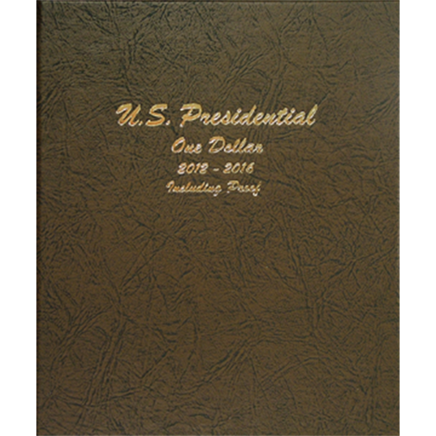Presidential Coins 2012 - Vol 2, P&D with proof - Dansco Coin Albums - Centerville C&J Connection, Inc.