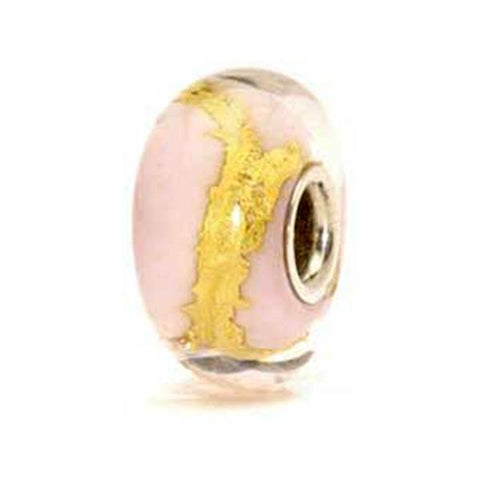 Pink Gold - Trollbeads Glass Bead - Centerville C&J Connection, Inc.