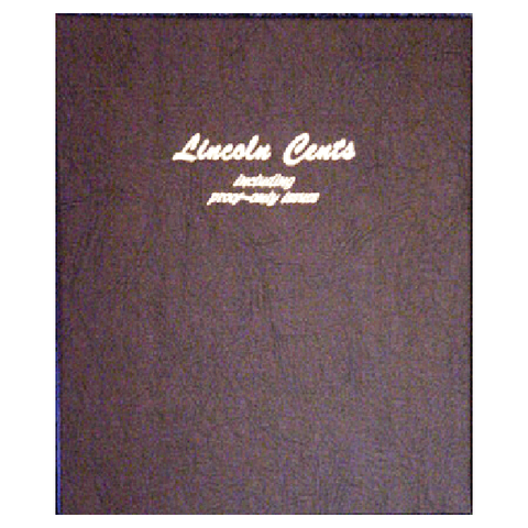 Lincoln Cents 1909 to 2009 with proof - Dansco Coin Albums - Centerville C&J Connection, Inc.