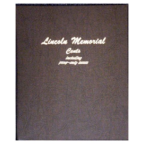 Lincoln Memorial - Cents 1959 to 2009 with proof - Dansco Coin Albums - Centerville C&J Connection, Inc.