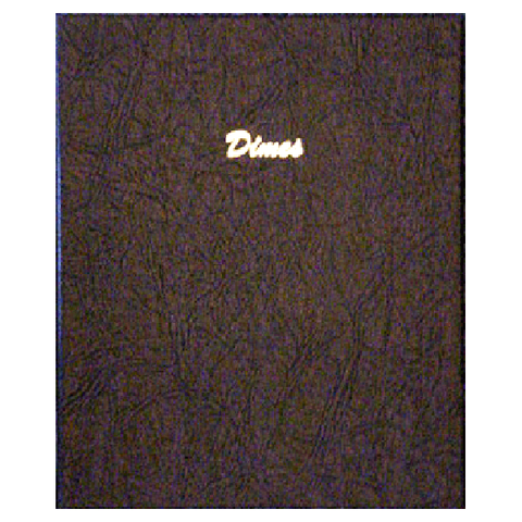 Dimes plain 168 ports - Dansco Coin Albums - Centerville C&J Connection, Inc.
