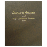Statehood Quarters 2009. P&D with DC & Territories - Dansco Coin Albums - Centerville C&J Connection, Inc.
