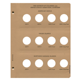Statehood Quarters DC & Territories with proof Replacement Page - Dansco Coin Albums - Centerville C&J Connection, Inc.