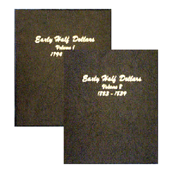 Early Half Dollars 1794-1839 (2 Vol Set) - Dansco Coin Albums - Centerville C&J Connection, Inc.