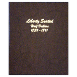 Liberty Seated Half Dollars 1839-1891 - Dansco Coin Albums - Centerville C&J Connection, Inc.