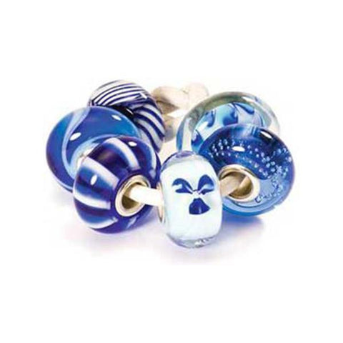 Blue Kit - Trollbeads Glass Bead - Centerville C&J Connection, Inc.