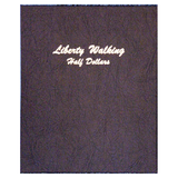 Liberty Walking Half Dollar 1916-1947 - Dansco Coin Albums - Centerville C&J Connection, Inc.