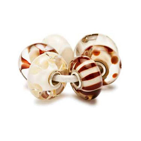 Chocolate Cream Kit - Trollbeads Glass Beads - Centerville C&J Connection, Inc.