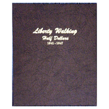 Liberty Walking Half Dollar 1941-1947 - Dansco Coin Albums - Centerville C&J Connection, Inc.