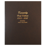 Kennedy Half Dollars - Vol. 1, 1964-2011 with proof - Dansco Coin Albums - Centerville C&J Connection, Inc.