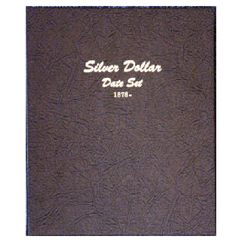 Silver Dollar date set 1878 to date - Dansco Coin Albums - Centerville C&J Connection, Inc.