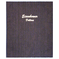 Eisenhower Dollars - Dansco Coin Albums - Centerville C&J Connection, Inc.