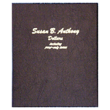 Susan B. Anthony Dollars with proof - Dansco Coin Albums - Centerville C&J Connection, Inc.