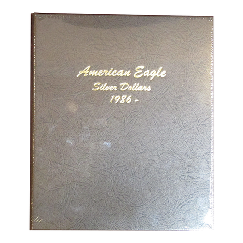 American Eagle Silver Dollars - Dansco Coin Albums - Centerville C&J Connection, Inc.