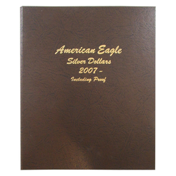 American Eagle Silver Dollars with proof Vol 2 - Dansco Coin Albums - Centerville C&J Connection, Inc.