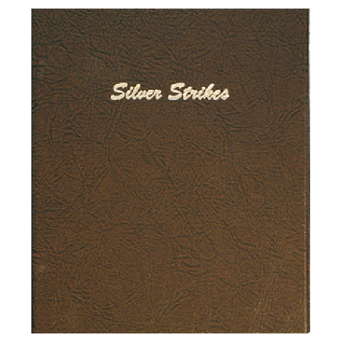 Silver Strikes, plain 5 pages 12 2x2 ports - Dansco Coin Albums - Centerville C&J Connection, Inc.