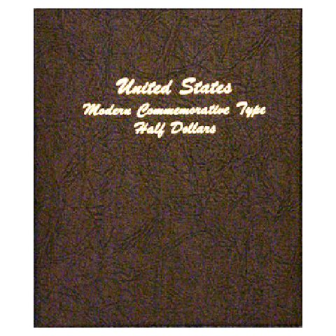 Modern Commemorative Type - Half Dollar - Dansco Coin Albums - Centerville C&J Connection, Inc.