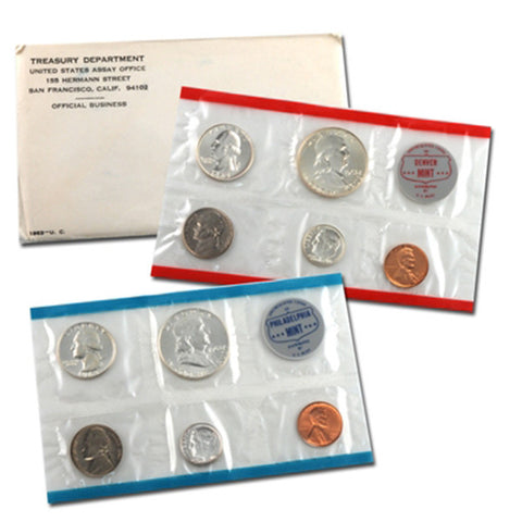 1963 Uncirculated Coin Set - Centerville C&J Connection, Inc.