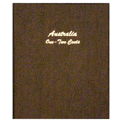Australia 1c-2c decimal 1966 - Dansco Coin Albums - Centerville C&J Connection, Inc.
