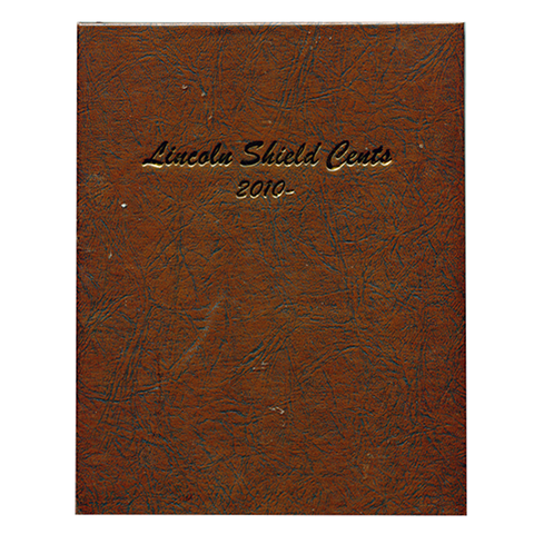 Lincoln Shield Cents 2010 to Date - Dansco Coin Albums - Centerville C&J Connection, Inc.