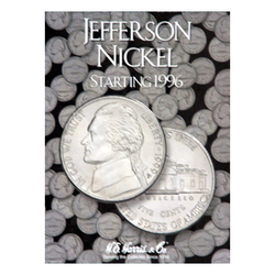 Jefferson, Part Three, Starting 1996 H.E. Harris Coin Folder - Centerville C&J Connection, Inc.
