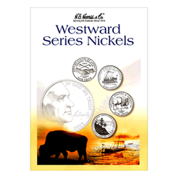 Westward Series Nickels Folder 2004-2006 H.E. Harris Coin Folder - Centerville C&J Connection, Inc.