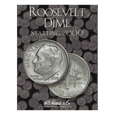 Roosevelt, Part Three, Starting 2000 H.E. Harris Coin Folder - Centerville C&J Connection, Inc.