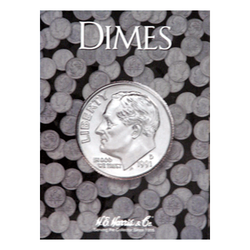 Dime Plain H.E. Harris Coin Folder - Centerville C&J Connection, Inc.