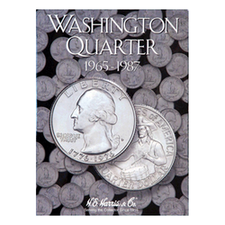Washington, Part Three, 1965 - 1987 H.E. Harris Coin Folder - Centerville C&J Connection, Inc.