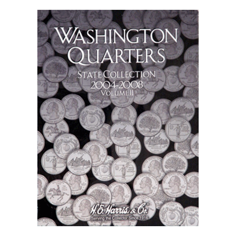 State Quarter Collection Folder 2004-2008 Vol II H.E. Harris Coin Folder - Centerville C&J Connection, Inc.