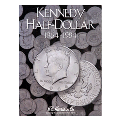 Kennedy, Part One, 1964 - 1984 H.E. Harris Coin Folder - Centerville C&J Connection, Inc.