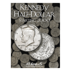 Kennedy, Part Three, Starting 2000 H.E. Harris Coin Folder - Centerville C&J Connection, Inc.