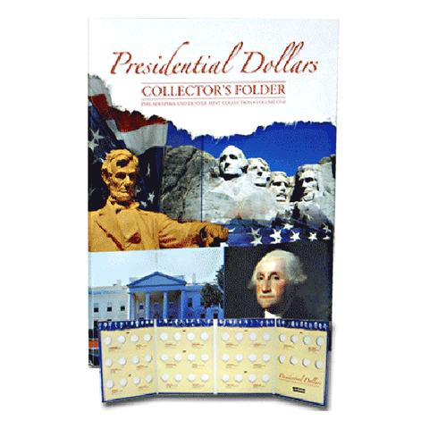 Presidential Four Panel Folder P&D Vol. I 2007-2011 Whitman Coin Folder - Centerville C&J Connection, Inc.