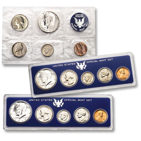 1966 Uncirculated Coin Special Mint Set (SMS) - Centerville C&J Connection, Inc.